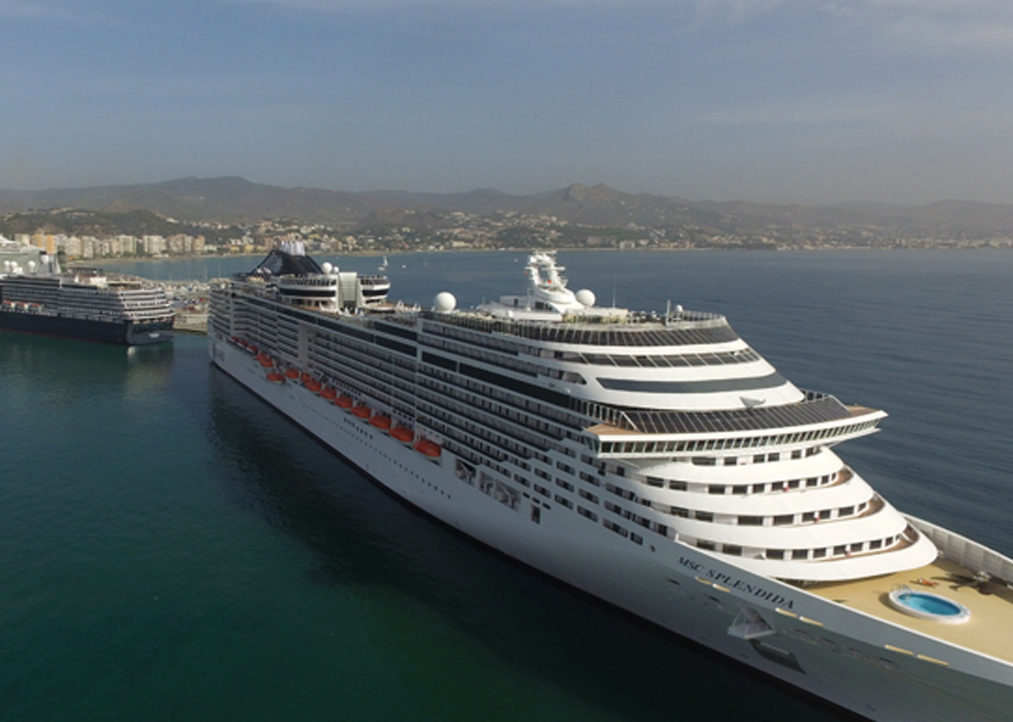 Malaga capital will be homeporting MSC Cruises in 2020